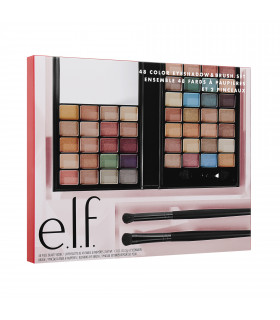 e.l.f. 48 Color Eyeshadow And Brush Set 2019