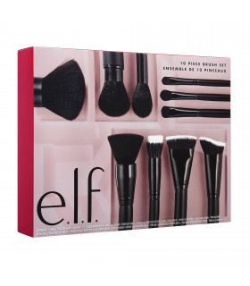 e.l.f. 10 Piece Face Brush Set 2019