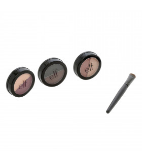 3 Eyeshadow Duos + Brush