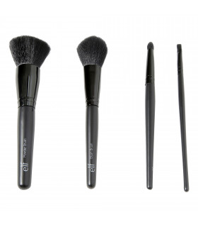Set (Powder,Blush Brush,Eyeshadow C Brush,Small Angle)